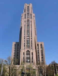 """The Cathedral of Learning at UPitt"" by Flickr user Carlos Hernandez, CC BY-NC-SA 2.0"