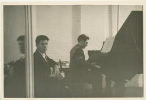 John Cage with David Tudor