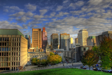 """Montreal skyline from McGill University"" by Flickr user slack12, CC BY-NC-ND 2.0"