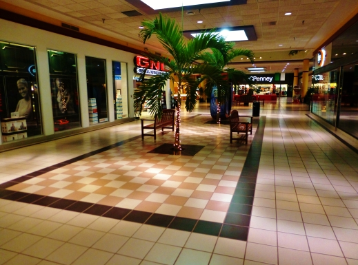 Ambient interiors in a typical mall. Nicholas Eckhart CC BY.