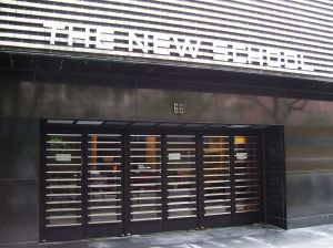 """66 West 12th Street, New School entrance"" by Wikimedia user Beyond My Ken, CC BY-SA 4.0"