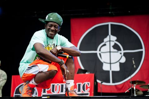 """Flavor Flav of Public Enemy at Way Out West 2013 in Gothenburg, Sweden"" by Wikimedia user Kim Metso, CC BY-SA 3.0"