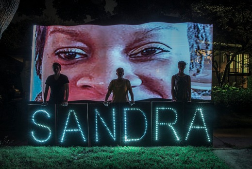 """Sandra Bland is Her Name"" by Flickr user  Light Brigading, CC BY-NC 2.0"