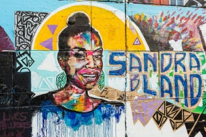 """Sandra Bland mural"" by Flickr user Robert Fairchild, CC BY-NC 2.0."