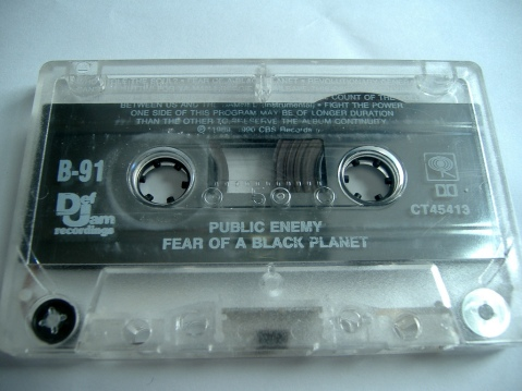 """Fear of a Black Planet Cassette"" by Flickr user Emory Maiden, CC BY-NC 2.0"