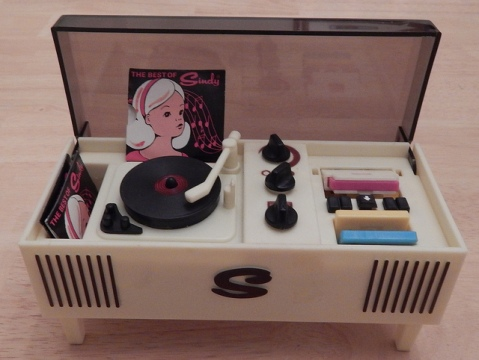 """Vintage Sindy Record Player"" by Flickr user Tai O'Leary, CC BY 2.0"