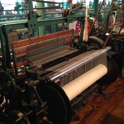 Boott Mill Threading Machine, Lowell, Massachusetts, USA, All images by author
