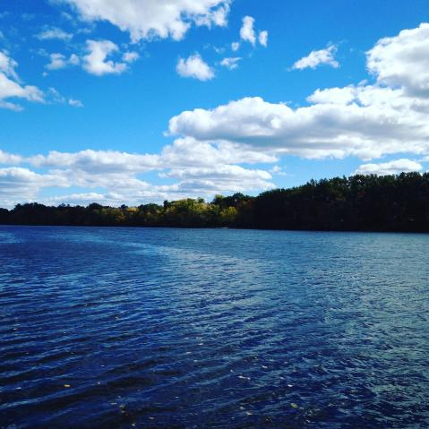 Merrimack River, Lowell Massachusetts, USA. All images by author.