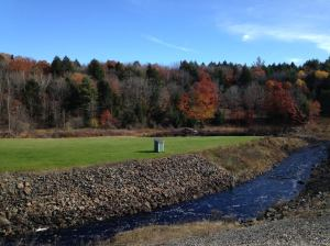 Otter Brook Dam and Edward MacDowell Lake-Keene, New Hampshire, Image by the author, Dan Walzer
