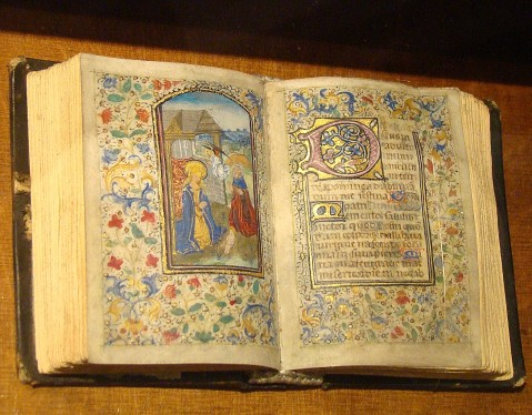An example of an illuminated manuscript. Image by Richard White @Flickr CC BY-NC-ND.