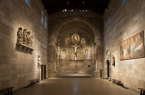 The Fuentidueña Chapel, The Cloisters, New York City