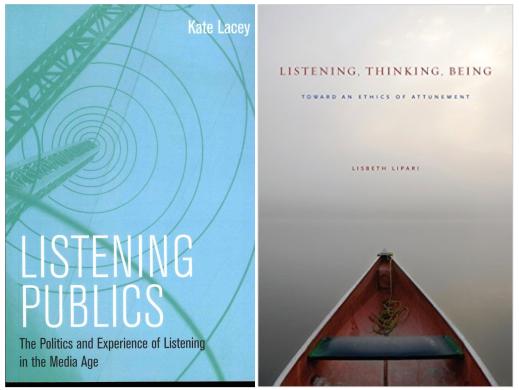 ListeningPublicsByKateLacey and ListeningThinkingBeingByLisbethLipari