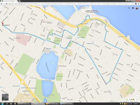 Reykjavik Soundwalk Map