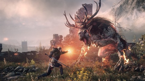 Still from The Witcher III: Wild Hunt.