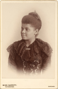 Ida B. Wells, 1893, Courtesy of the US National Portrait Gallery