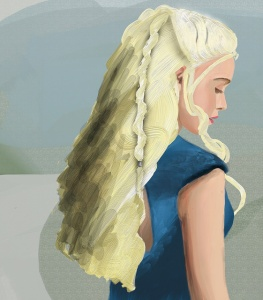 Daenerys, Created in ArtRage Studio by Flickr User Happy Snapper 80 (CC BY-NC 2.0)