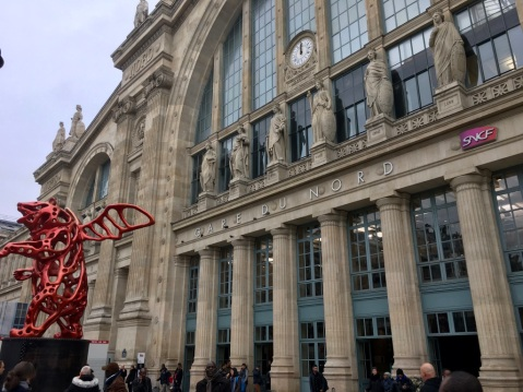 Gare du Nord by Des Coulam