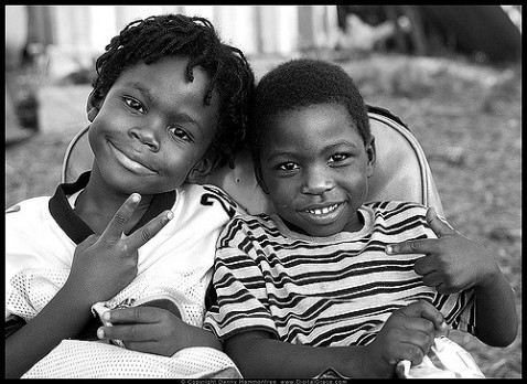 Two young boys from Umojaa Village, Liberty City, Miami, image by Flicker User danny.hammontree, (CC BY-NC-ND 2.0)