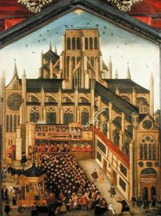 A sermon at Paul's Cross (from the Society of Antiquaries of London)