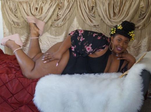 Ebony Bbw Lesbian Eating Ass